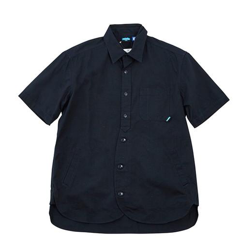 カブー(KAVU) メンズ ショートスリーブループシャツ ネイビー M