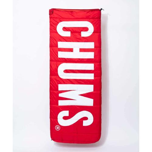 チャムス チャムスロゴスリーピングバッグ Red (CHUMS)