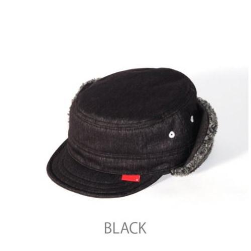 (clef)クレ CJ8013 2LAYER NYLON BOAWORK CAP BLK