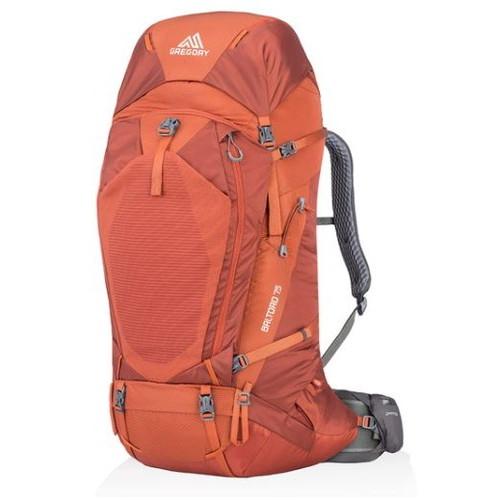 グレゴリー バルトロ75 フェラスオレンジ S (GREGORY) | リュック ザック バックパック 大容量 登山 アウトドア キャンプ おしゃれ