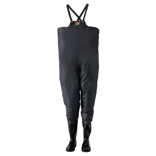 ロゴス クレモナ水産 胴付き長靴 (鉄紺)27.0cm (LOGOS)