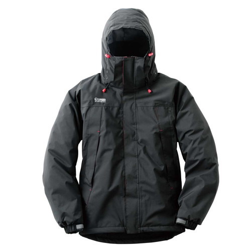 (LOGOS)ロゴス 動体裁断防水防寒ジャケット ファレル (71ブラック) M