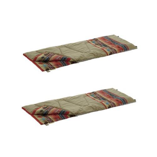 ロゴス(LOGOS) 丸洗い寝袋ナバホ・6 (抗菌・防臭)×2 お買い得2点セット  アウトドア アウトドア用品 アウトドアー 用品 アウトドアグッズ キャンプ キャンプ用品