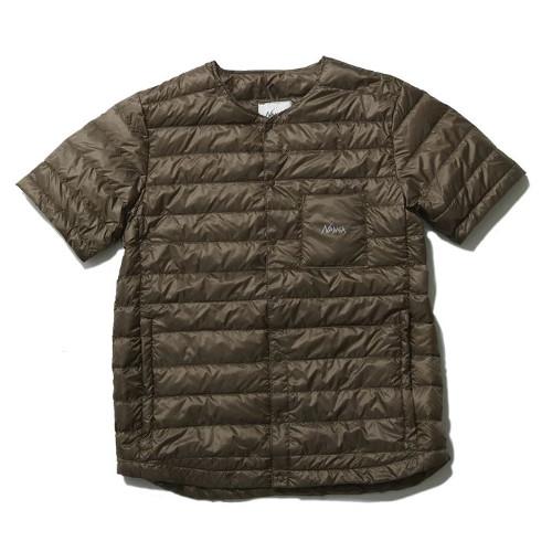 ナンガ ダウンTシャツ (C.BRN) M 2019 (NANGA)