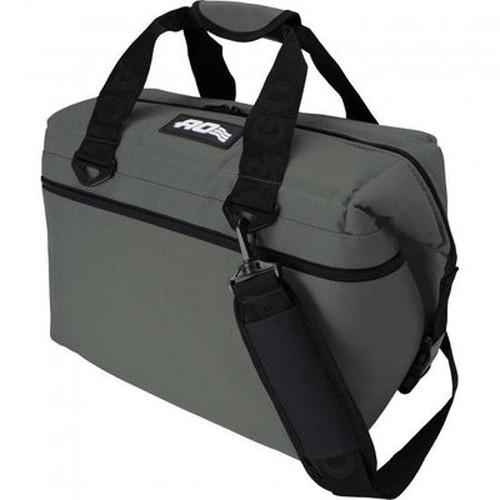エーオークーラー(AO coolers) 24パック キャンバスソフトクーラー チャコール