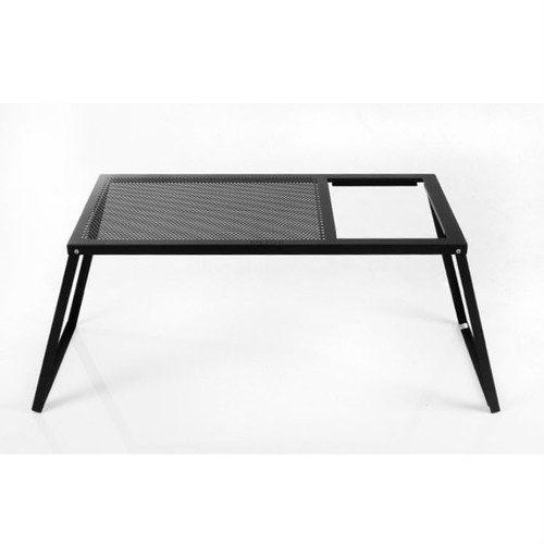 オーヴィル ガーデンファミリーテーブル (auvil) | テーブル 折りたたみ コンパクト 黒 ブラック キャンプ アウトドア BBQ バーベキュー おしゃれ