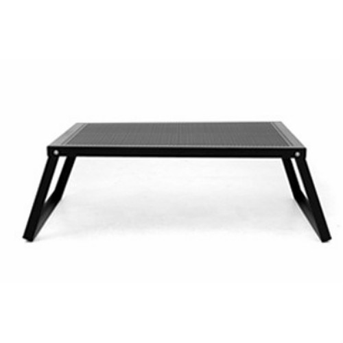 オーヴィル ラウンジテーブル (auvil) | テーブル 折りたたみ コンパクト 黒 ブラック キャンプ アウトドア BBQ バーベキュー おしゃれ