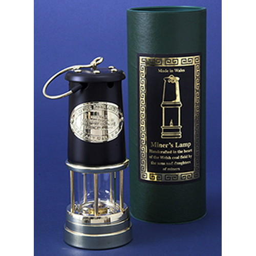 ブッシュクラフト(Bush Craft) JDバーフォード マイナーズランプ Lサイズ / ブラック&ブラス #96
