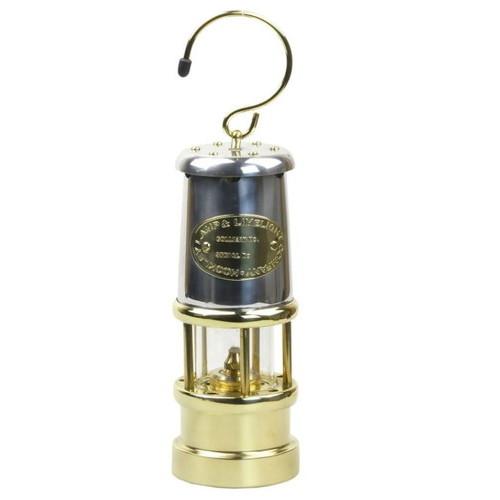 ブッシュクラフト(Bush Craft) JDバーフォード マイナーズランプ Mサイズ / ニッケル&ブラス #N58