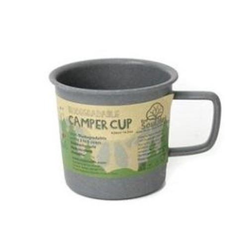 (EcoSoulife)エコソウライフ キャンパーカップ Charcoal(チャコール)
