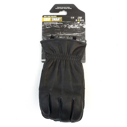 グリップスワニー グローブ ブラック M 24cm (GRIP SWANY)   グローブ 手袋 レザー 革 焚火 アウトドア アウトドア用品 アウトドアグッズ キャンプ キャンプ用品 おしゃれ