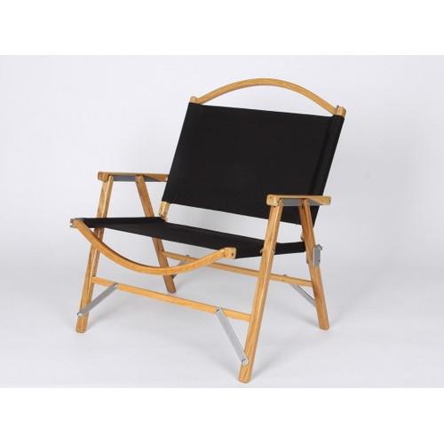 カーミットチェア Black ブラック (Kermit Chair) | 椅子 折りたたみ 木製 コンパクト アウトドア キャンプ バーベキュー BBQ おしゃれ