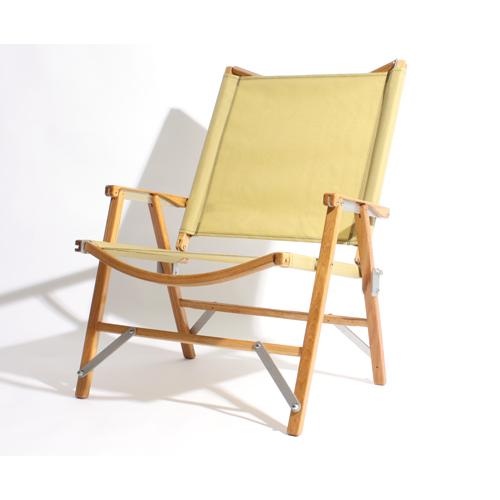 カーミットチェア Hi-Back -BEIGE- ベージュ (Kermit Chair) | 椅子 折りたたみ 木製 コンパクト アウトドア キャンプ バーベキュー BBQ おしゃれ