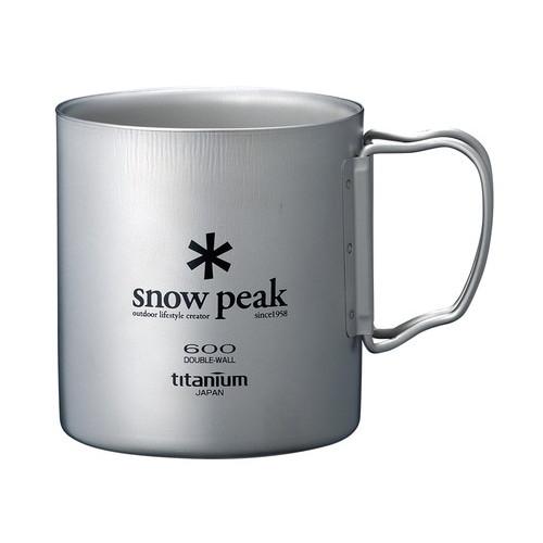 (snow peak)スノーピーク チタンダブルマグ 600/MG-054R