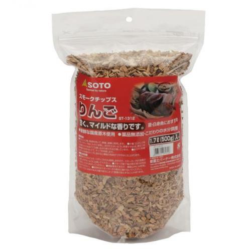 (SOTO)新富士バーナー スモークチップス 熱燻の素 熟成りんご/ST-1312