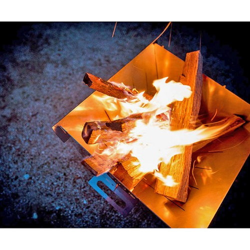 オーヴィル エッジキャンプストーブ+網セット (焚火台) (auvil)