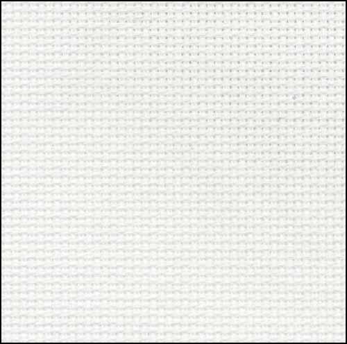 クロスステッチ 布 アイーダ 20ct スーパーセール期間限定 ホワイト ツバイガルト 3326 Aida アイテム勢ぞろい 100 Zweigart White
