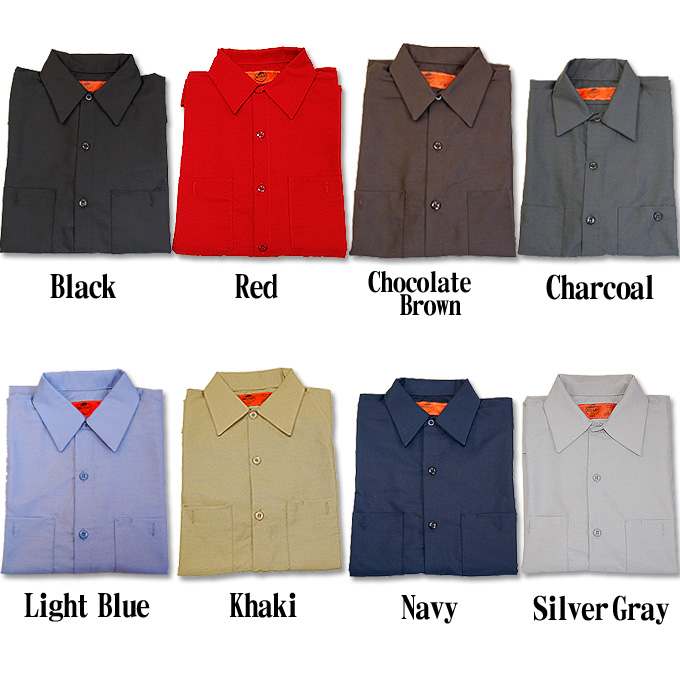 sp14 longsleeved work shirt industrial long sleeve plain solid red cap red cup 10p13oct13b