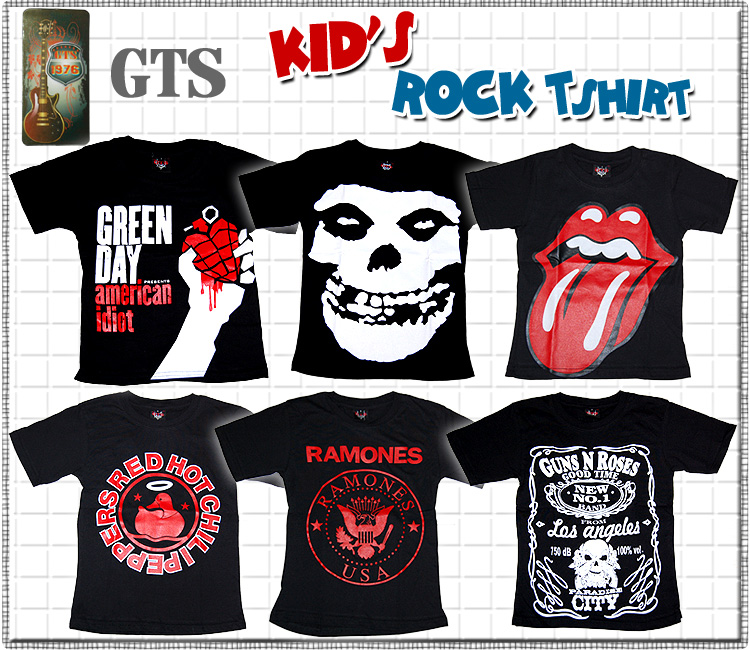 GTS 제 1탄 락으로 쿨! 아티스트 락 밴드 GREEN DAY MIS FITS STONES RAMONES REDHOT CHILI