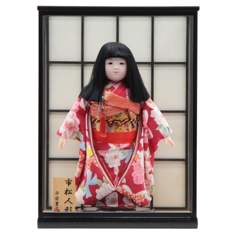 雛人形 ケース入り市松人形[幅43cm][it-1081] 雛祭り