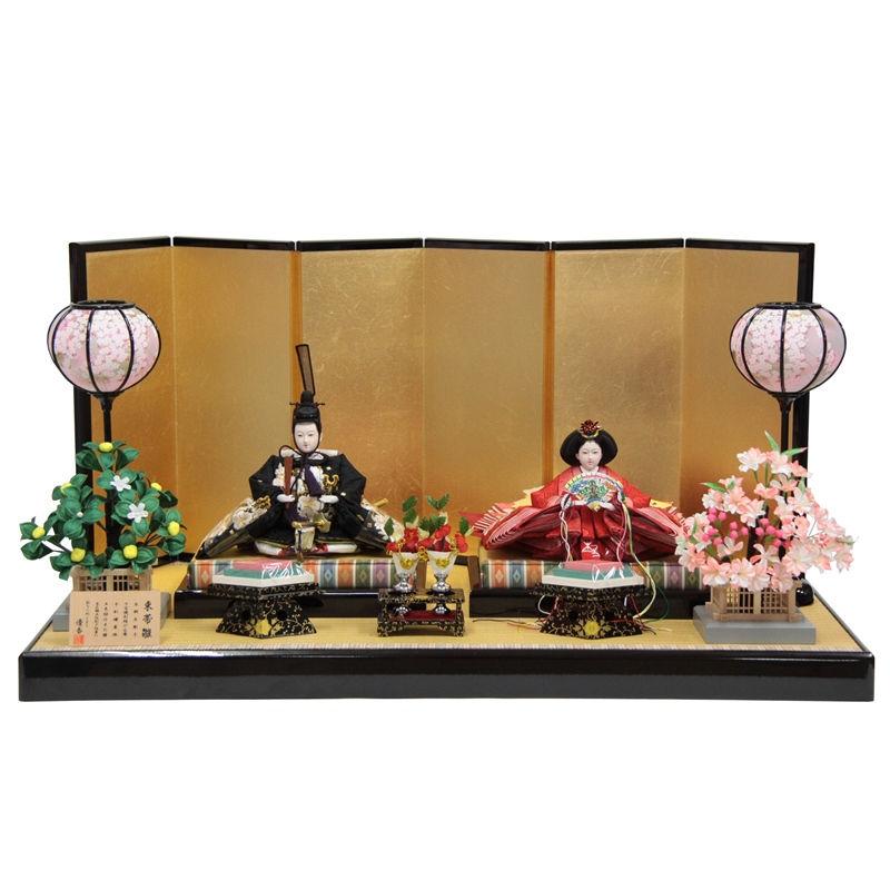 雛人形 親王平飾り【束帯雛】京十一番 [幅85cm] 平安優香 [193to1730a83] 雛祭り