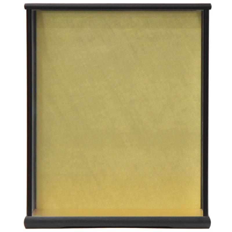 アウトレット品 見本使用 展示品です 人形用 ケース単品 安心の定価販売 No7-40 黒塗り 22a-ya-1426 ディスプレイ 天板ガラス外すタイプ 年中無休 見切処分品 幅36cm 空ケース インテリア