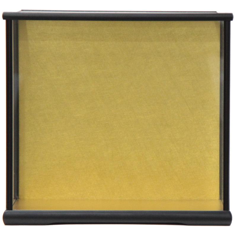 アウトレット品 見本使用 展示品です 人形用 ケース単品 No7-30 超激得SALE 黒塗り NEW 天板ガラス外すタイプ インテリア ディスプレイ 空ケース 見切処分品 22a-ya-1428 幅36cm