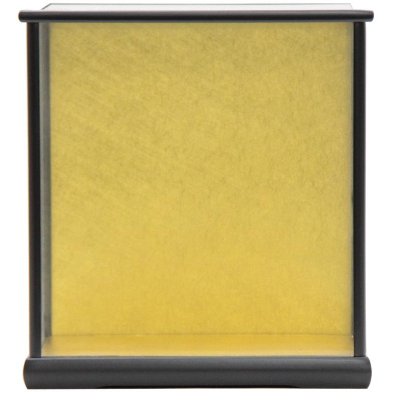 アウトレット品 見本使用 展示品です 実物 人形用 ケース単品 大規模セール 5-30 黒塗り 空ケース 22a-ya-1432 ディスプレイ 見切処分品 天板ガラス外すタイプ 幅31.5cm インテリア