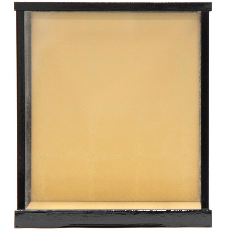 アウトレット品 見本使用 展示品です 人形用 ケース単品 博多27 黒塗り艶有 幅27cm 待望 天板ガラス外すタイプ 見切処分品 インテリア 22a-ya-1437 ディスプレイ 空ケース お求めやすく価格改定