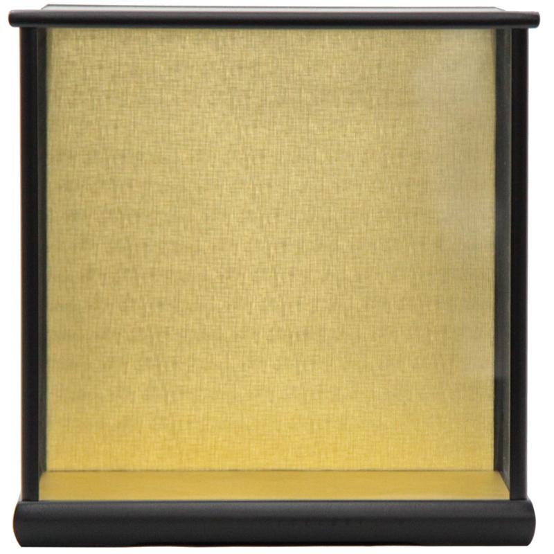 アウトレット品 見本使用 展示品です 人形用 返品交換不可 メーカー直送 ケース単品 6-30 黒塗り 天板ガラス外すタイプ ディスプレイ 22a-ya-1475 見切処分品 空ケース インテリア 幅33.5cm