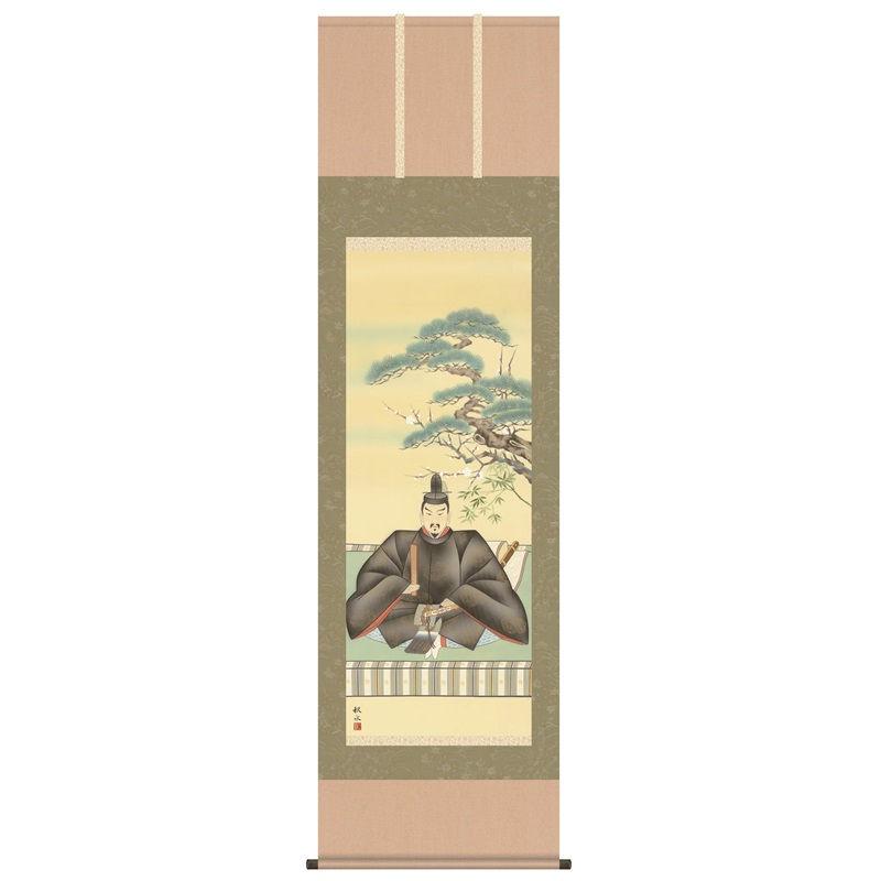 掛軸 [慶祝画] 【天神】 浮田秋水 尺五 [H30C4-008]【代引き不可】
