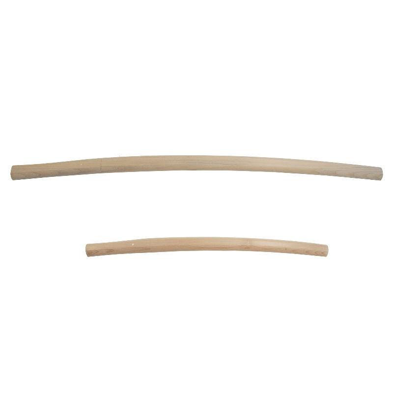 【模造刀】仕込杖 白鞘 大小刀 大小刀 掛け台・刀袋付 【gst-sd7-122】 日本刀 刀剣 おもちゃ 通販【代引き不可】