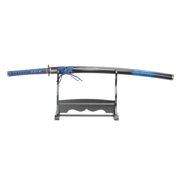 模造刀 模造刀 飛沫シリーズ 青飛沫 gst-rd1-121 おもちゃ 掛け台・刀袋付 大刀 竜刀身 gst-rd1-121 日本刀 刀剣 おもちゃ 通販 代引き不可, カワイチョウ:8bf01c19 --- cgt-tbc.fr
