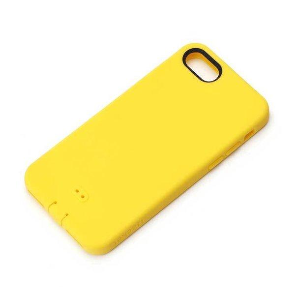 iPhone 7 ケース イエロー シリコン ソフト シルキータッチ 最安値挑戦 シンプル 捧呈 PGA 保護 さらさら カバー