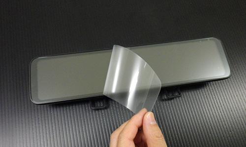 様々なメーカーのインナーミラーで使える デジタルインナーミラー ドライブレコーダー用 反射防止フィルム 国内正規総代理店アイテム 11.88インチ対応 DMDR-27 DMDR-28対応 液晶フィルム ノングレア 日本 液晶 保護 指紋防止 保護フィルム