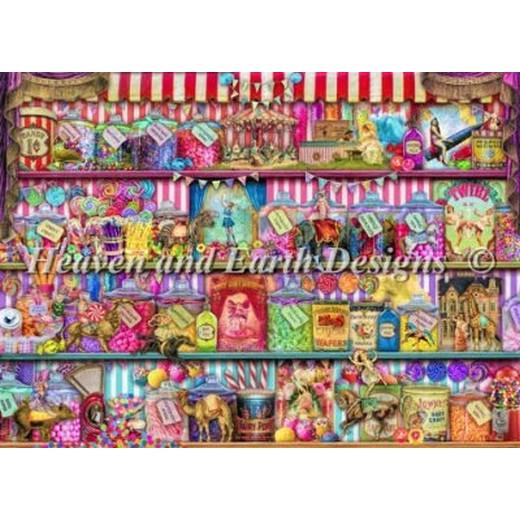 クロスステッチ キット 上級者 全面刺しHAED(Heaven And Earth Designs) - Sweet Shoppe
