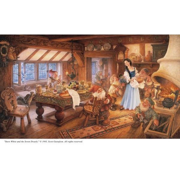 クロスステッチ刺繍キット Heaven And Earth Designs(HAED) - Scott Gustafson - Snow White(白雪姫) クロスステッチ キット
