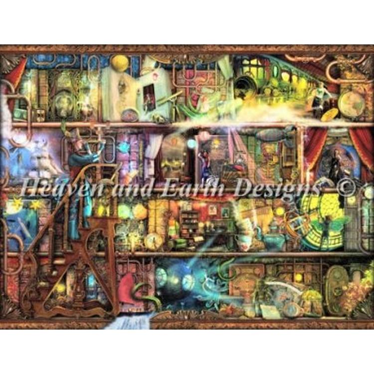 クロスステッチ キット 上級者 全面刺し Heaven And Earth Designs(HAED) - Aimee Stewart - The Fantastic Voyage
