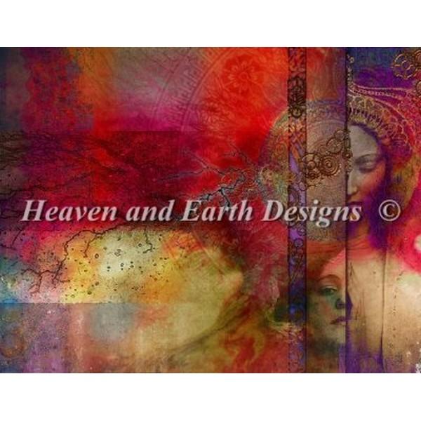 クロスステッチ キット 上級者 全面刺し Heaven And Earth Designs(HAED) - Aimee Stewart - Past Present Future