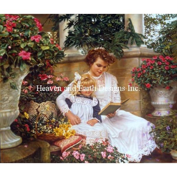 クロスステッチ刺繍キット Heaven And Earth Designs(HAED) - Sandra Kuck - Garden Memories