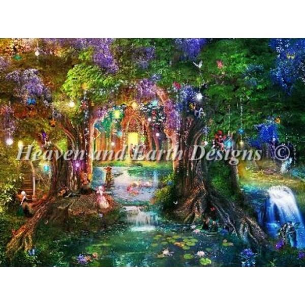 クロスステッチ刺繍キット Heaven And Earth Designs(HAED) - Aimee Stewart - The Butterfly Ball