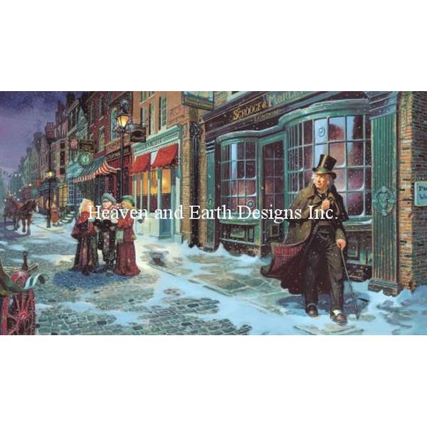 クロスステッチ キット 上級者 全面刺し Heaven And Earth Designs(HAED) - A Christmas Carol