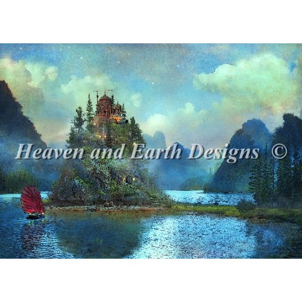 クロスステッチ キット 上級者 全面刺し Heaven And Earth Designs(HAED) - Journeys End