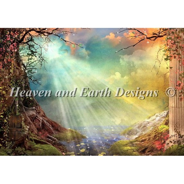クロスステッチ キット 上級者 全面刺し Heaven And Earth Designs(HAED) - Aimee Stewart - The Magic Grotto