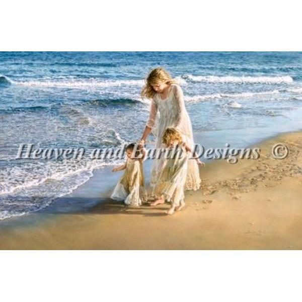 クロスステッチ キット 上級者 全面刺し Heaven And Earth Designs(HAED) - A Walk In The Sand
