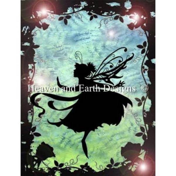 クロスステッチ キット 上級者 全面刺し Heaven And Earth Designs(HAED) - Fairy Grove