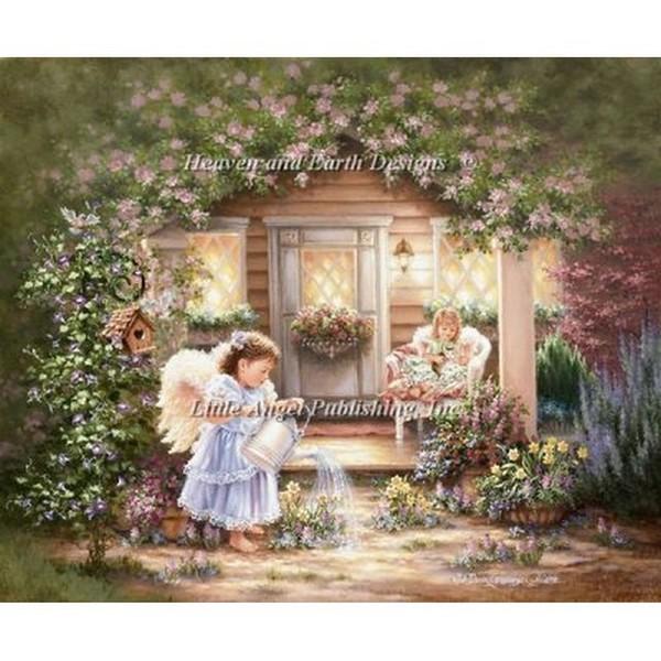 クロスステッチ キット 上級者 全面刺し Heaven And Earth Designs(HAED) - Grow With Love