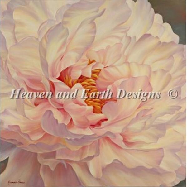 クロスステッチ キット 上級者 全面刺し Heaven And Earth Designs(HAED) - Peony Petals