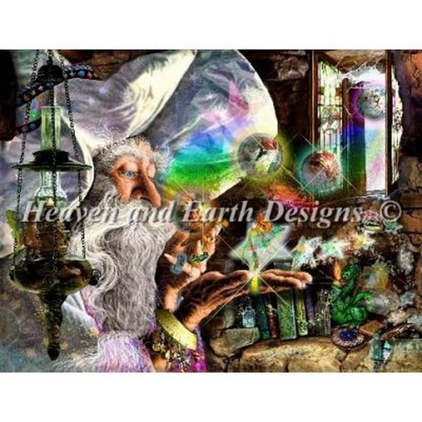 クロスステッチ キット 上級者 全面刺し Heaven And Earth Designs(HAED) - The Summons