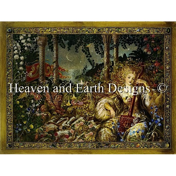 HAED(Heaven And Earth Designs)-Basiliskクロスステッチキット